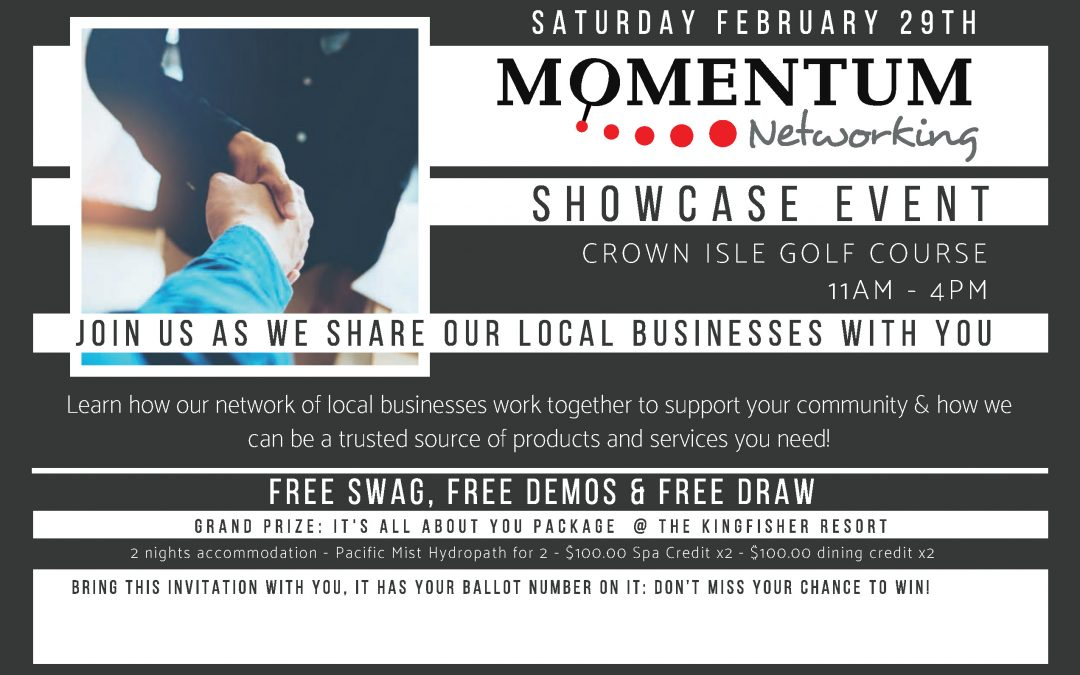 Momentum Networking Showcase Event
